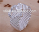 Hot Style Noble Jewelry 925 Silver Plated Fashion Women Ring Wide Net With Two Hearts Size 8 wide net women ring