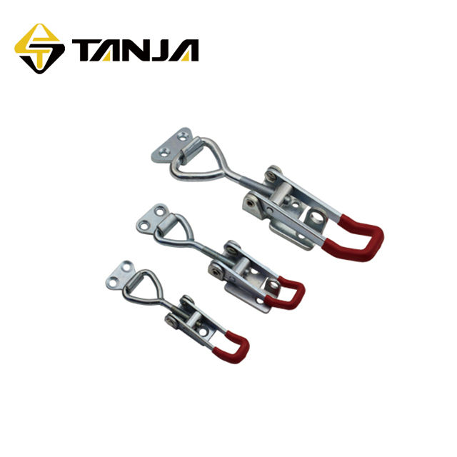 TANJA 4002 pneumatic toggle clamps steel zinc plated toggle latch for railway