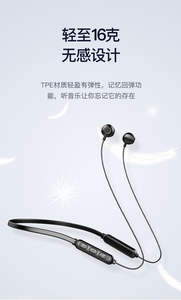 Wireless Earbud Bluetooth Earphone Kebugaran Headphone Baru Asli Ponsel Earphone Ponsel Hitam