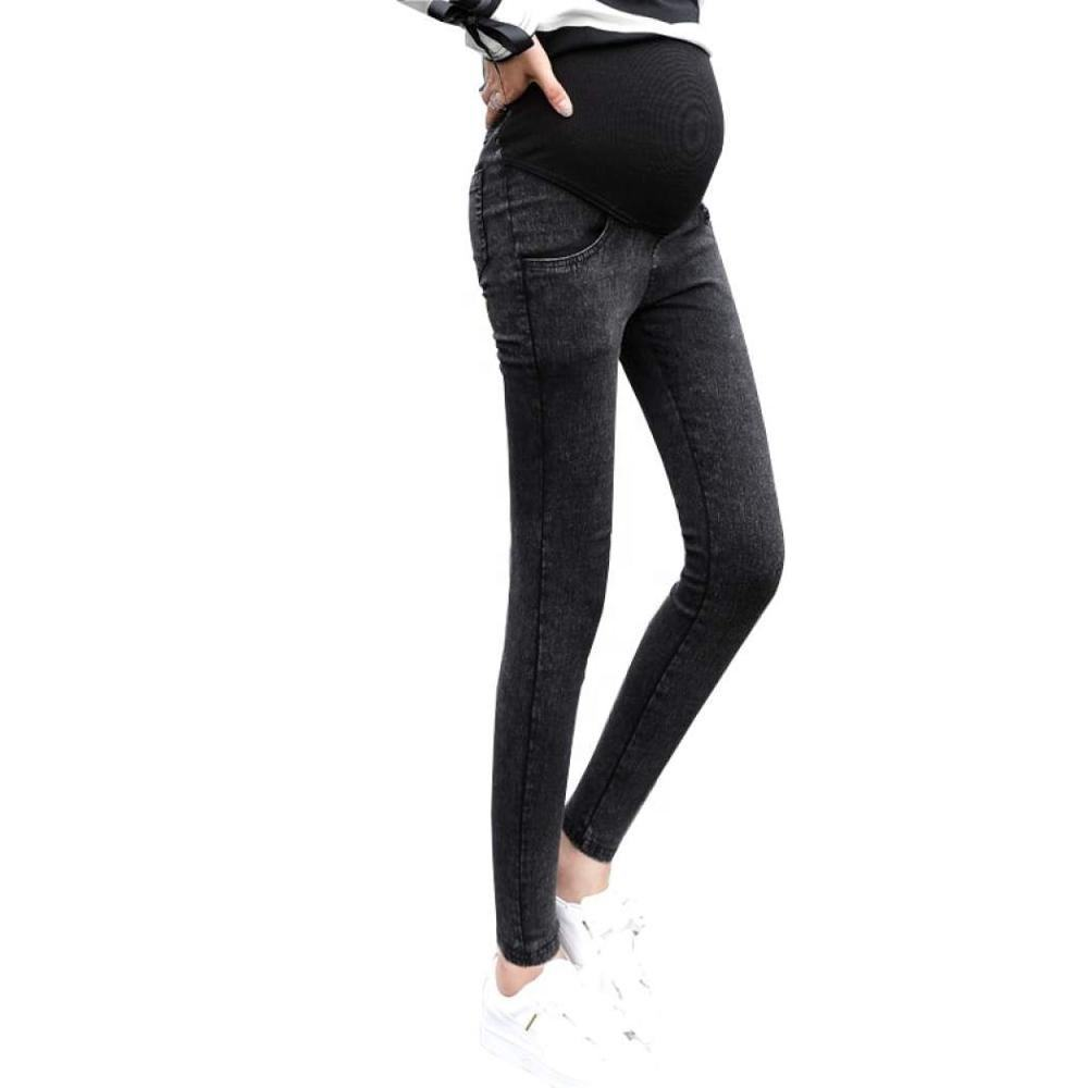 Contact Supplier Leave Messages lady jeans with zipper on bottom woman skinny fit jeans with stretch elastic denim