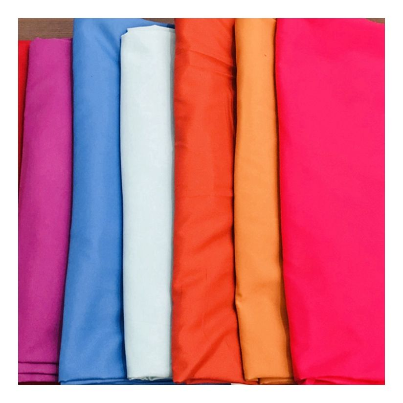 Wholesale china custom solid dyeing woven 100 polyester fabric manufacturers