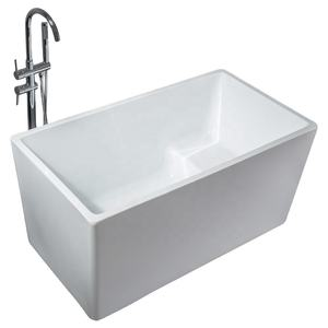 Hot Selling Extra Deep Custom Size Mini Square Standard Size Free Standing Cheap Bathtub Price