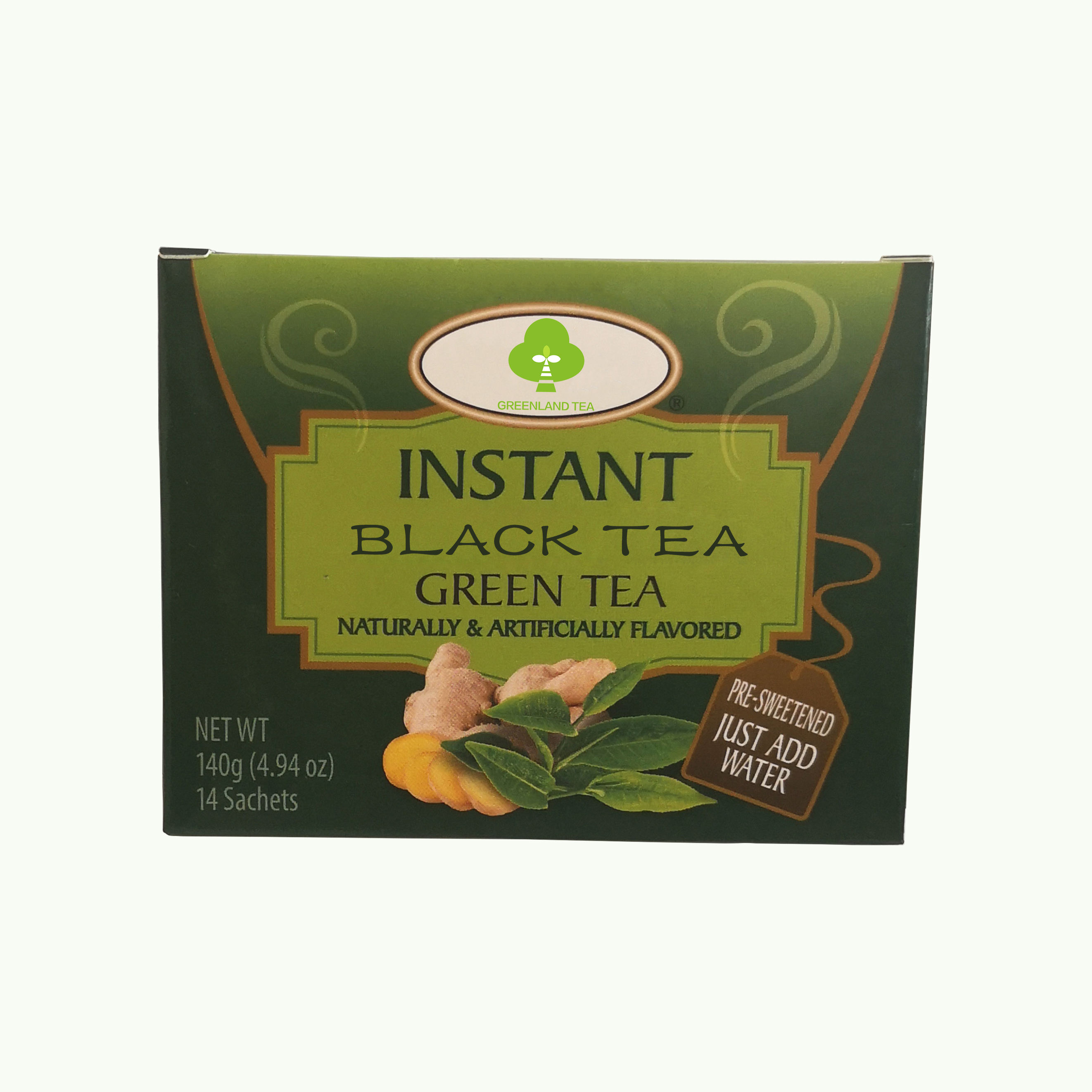 Healthy china Instant ginger with black tea drink