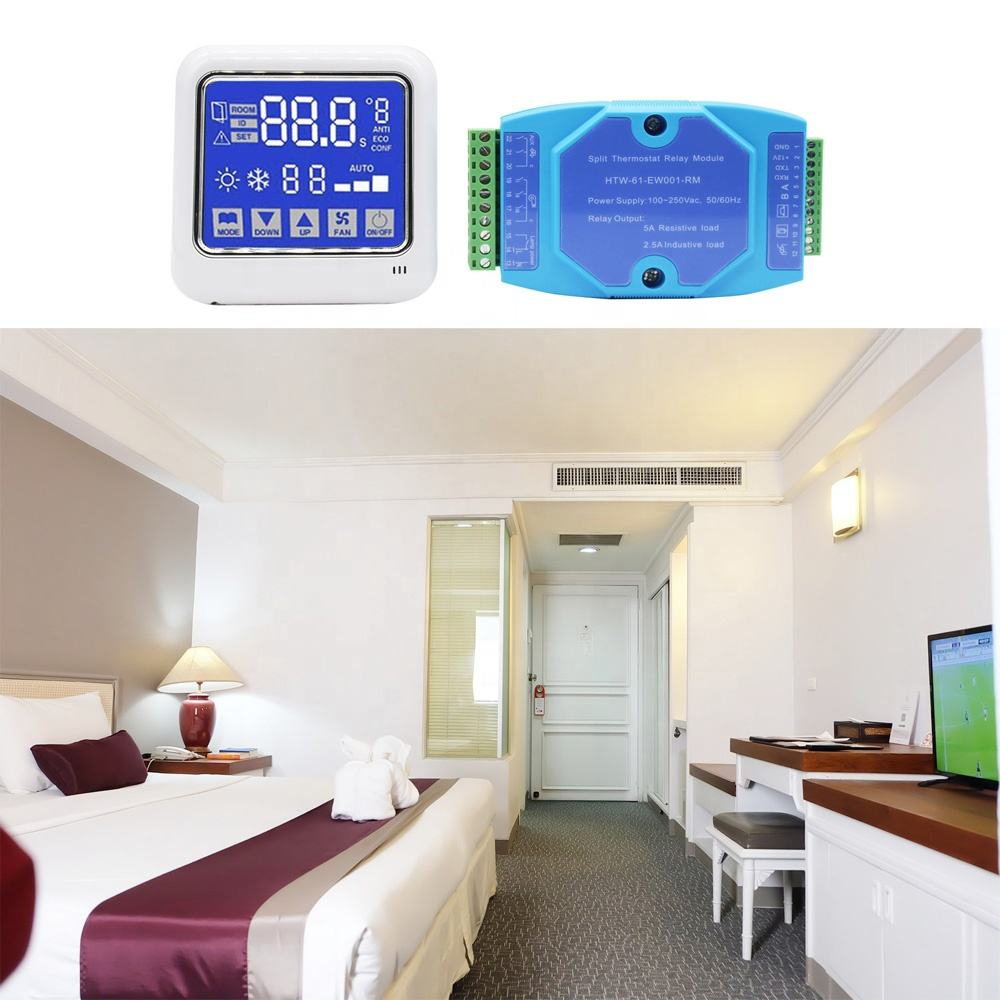 Multifunctional Hotel Air conditioning/ Lighting/ Window control Motion Sensor Room Thermostat