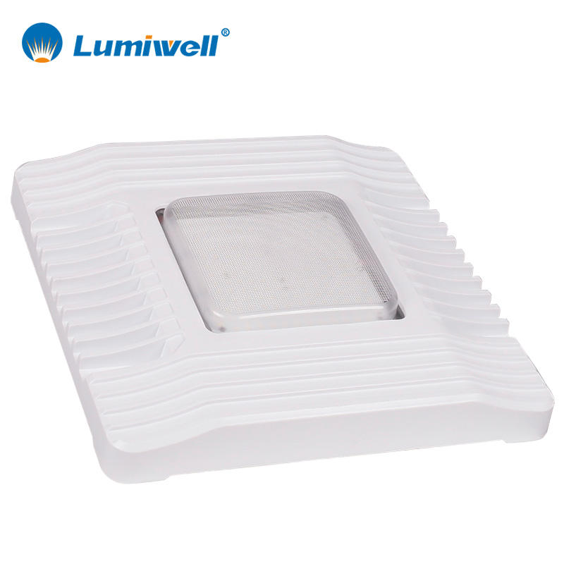 5 Years Warranty IP65 Waterproof AC100-277V Internal Driver 60W 100W 150W LED Canopy Light