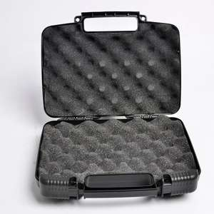 Protective Gun Guard Single Scoped Pistol Case Plastic Hand Gun Case With Wave Foam