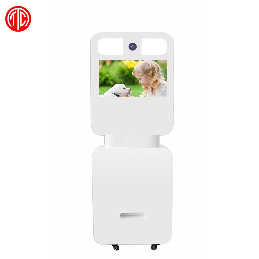 22 pollici 10 punti capacitivo stagnola di tocco photobooth display interattivo A CRISTALLI LIQUIDI di pubblicità digital signage media player