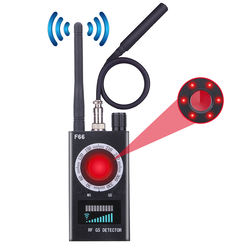 Wireless Hidden Camera GSM Device Audio Bug Finder GPS Signal Laser Lens RF Tracker Anti Spy Detector
