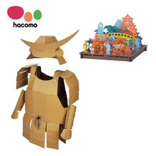Samurai edo cardboard art craft