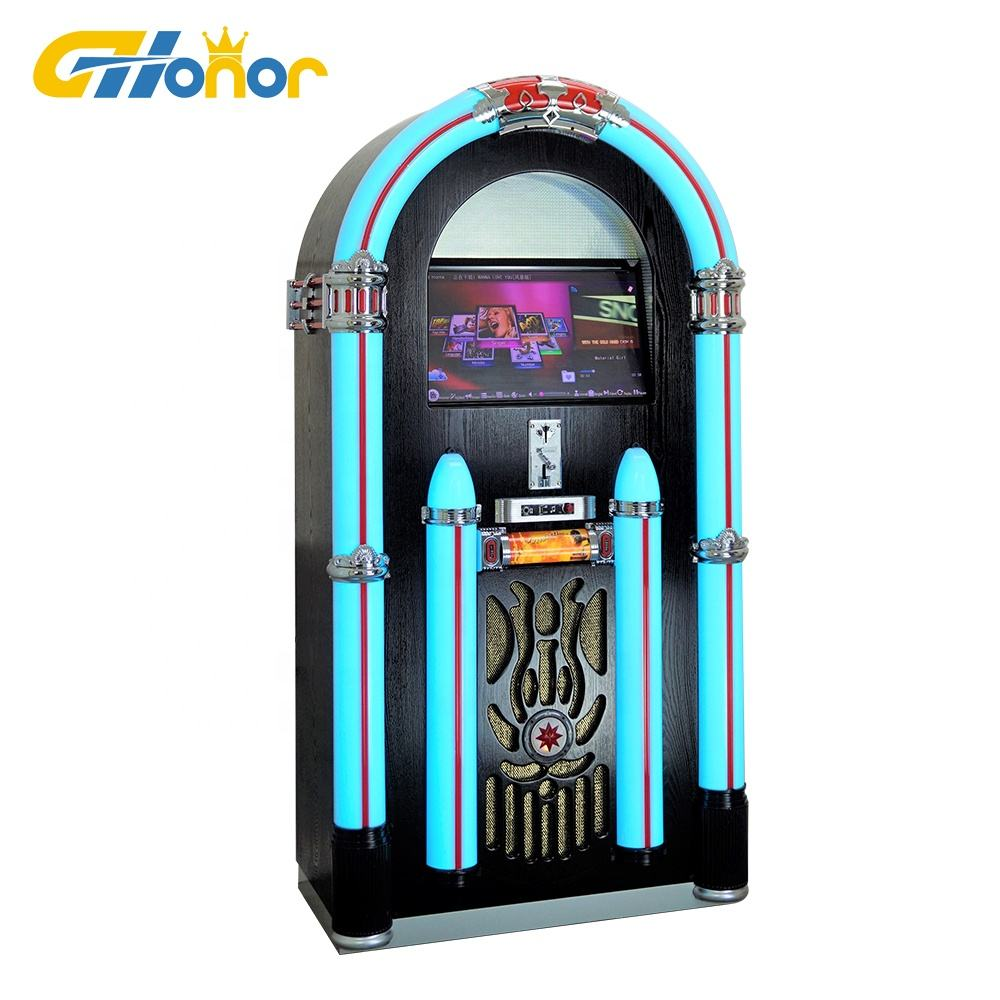2019 The Best Selling Coin Operated Digital Screen connect to wifi Juke Box