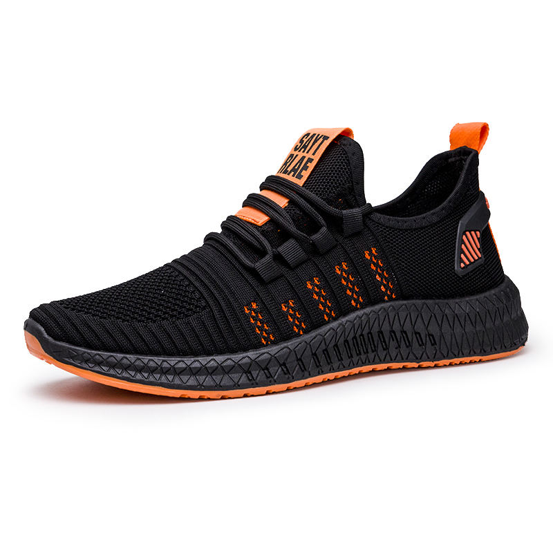 Latest Design Free Shipping MenのSports Shoes Black Sneakers Shoes Men