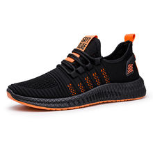 Latest Design Free Shipping Men's Sports Shoes Black Sneakers Shoes Men