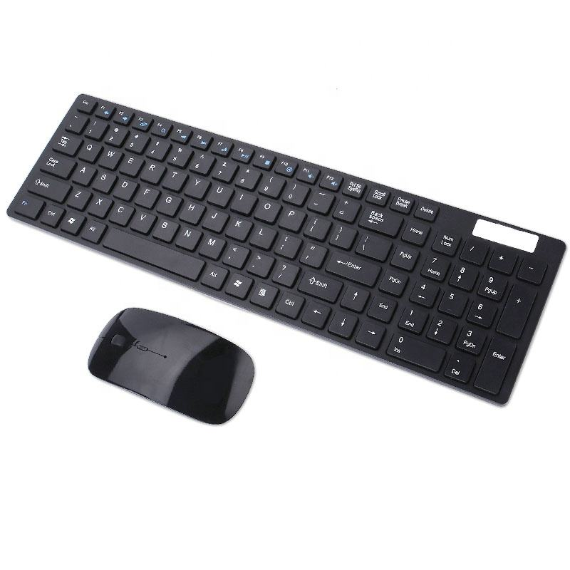 Amazon Diskon Besar Set Komputer <span class=keywords><strong>Keyboard</strong></span> dan Mouse Nirkabel 2.4G Kombo