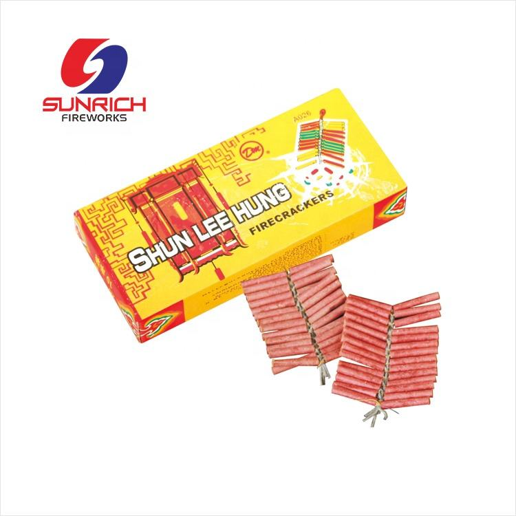 0342 Shun lee hung Red Cracker Петарды 1,4G фейерверки