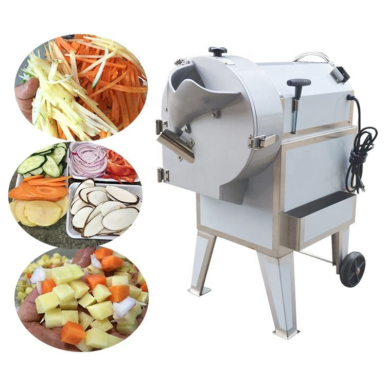 Industrial vegetable slicing dicing carrot onion potato chip cutting machine