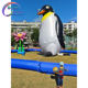 Lovely giant inflatable penguin for outdoor decoration