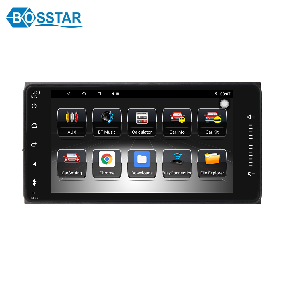 car dvd stereo multimedia universal palyer for toyota with gps navigation/bluetooth/wifi