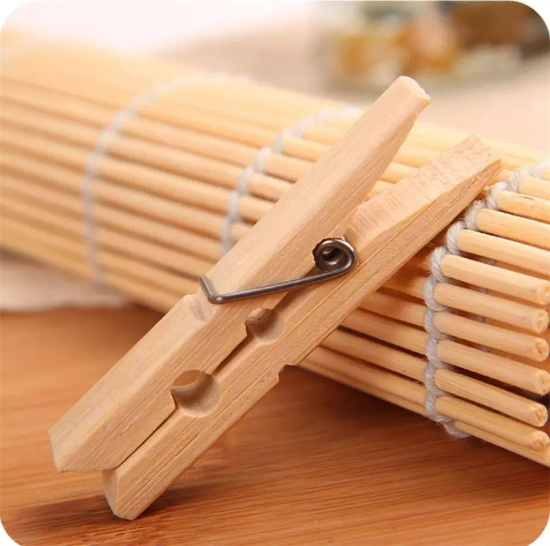Estick Board Coat Rack Natural Preferential Price Clothes Bamboo Tee Pegs For Sale