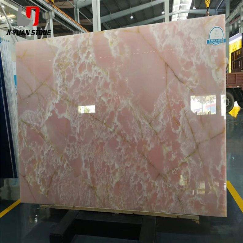 Good Price Onyx Pink Marble Slabs For House Decoration
