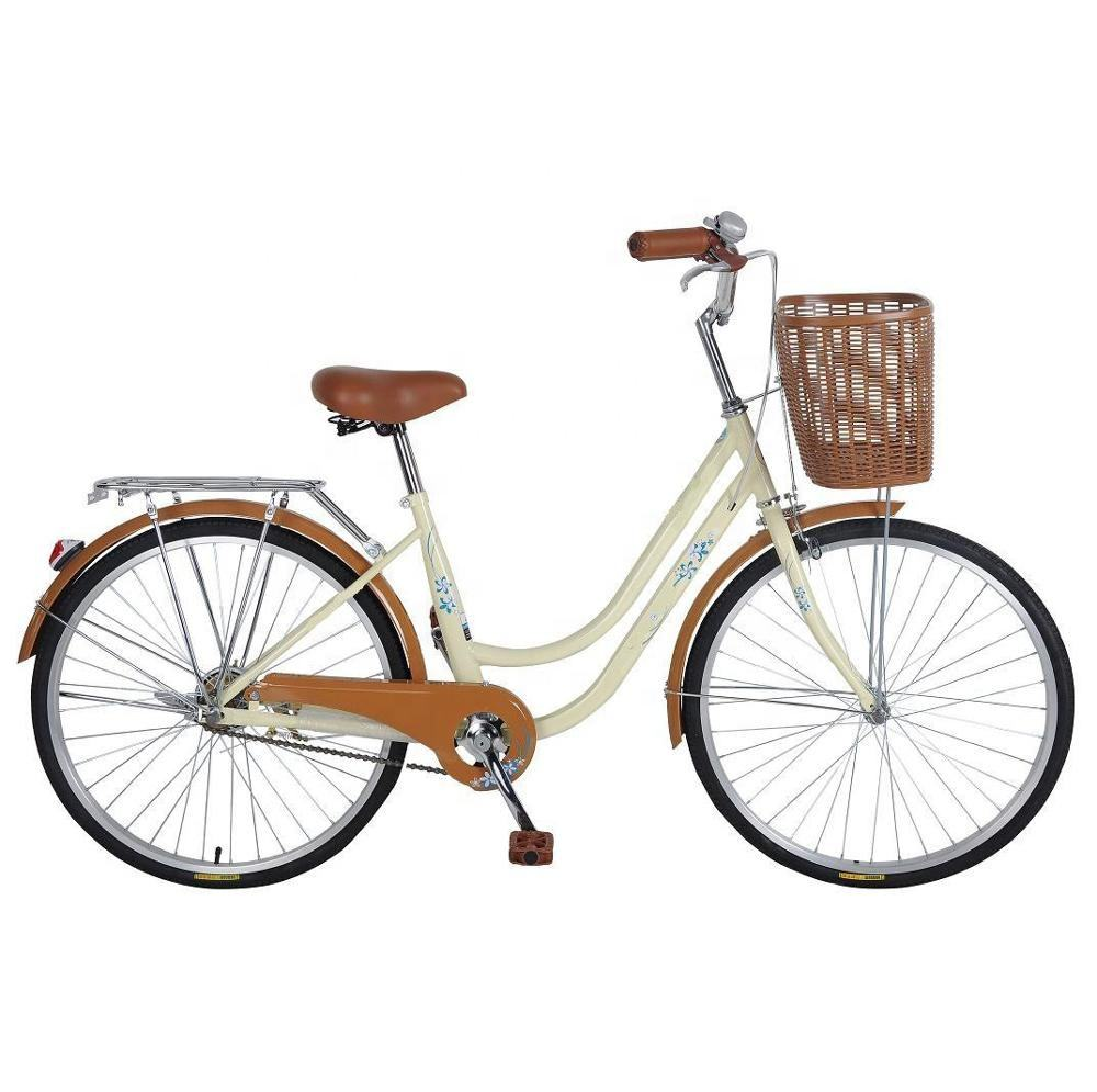 "26"" new model lady bicycle/bike/cycling with basket"
