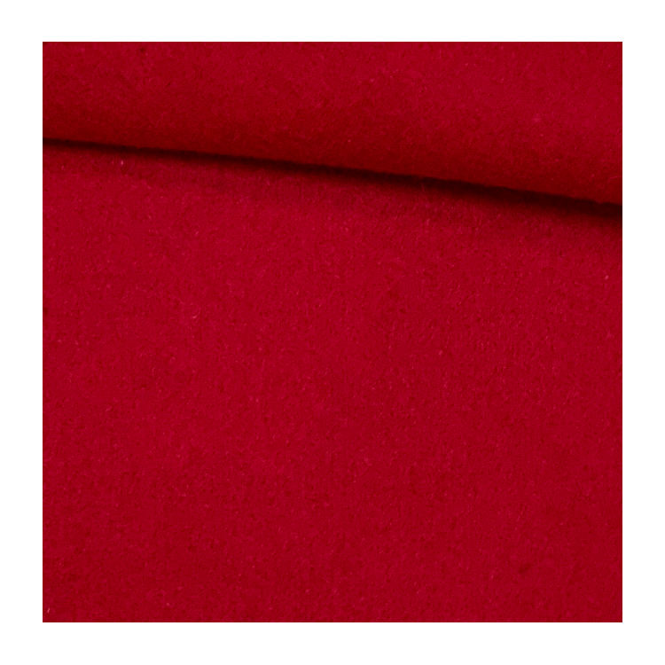 Melton single side wool fabric color customized