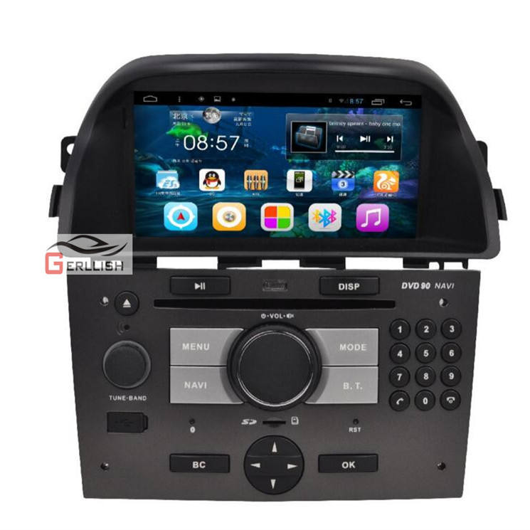 Auto Accessoire 7 inch Android Auto Navigatie Entertainment Systeem voor Opel Antara 2008-2013 IPS + DSP + carplay video wifi BT