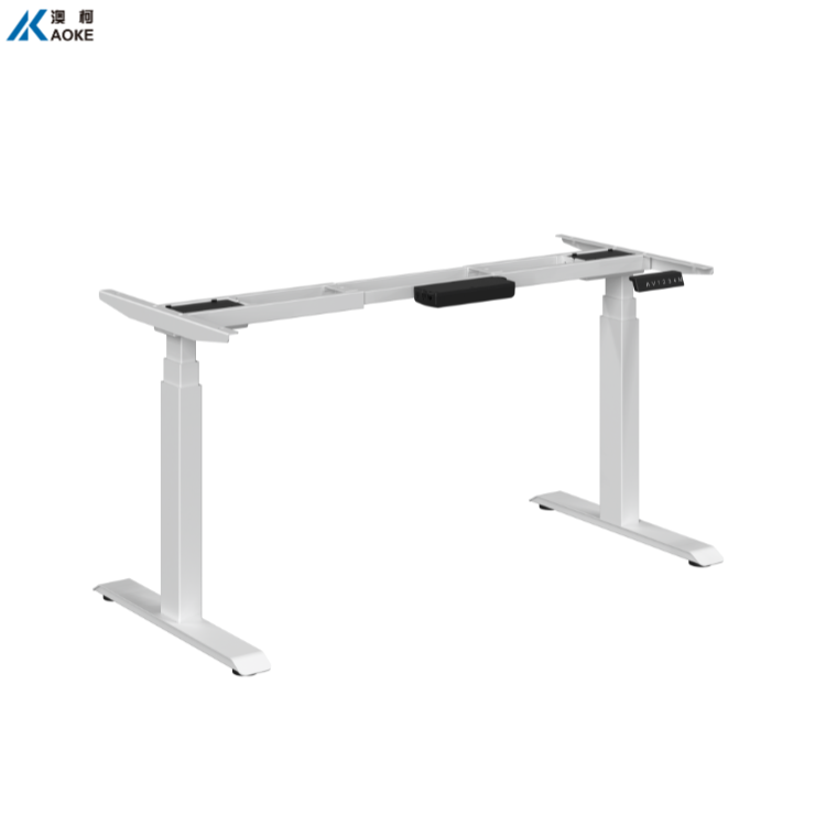 Office Computer Height Adjustable Desk with Timotion Electric Control System AK2YJYT-YZB3
