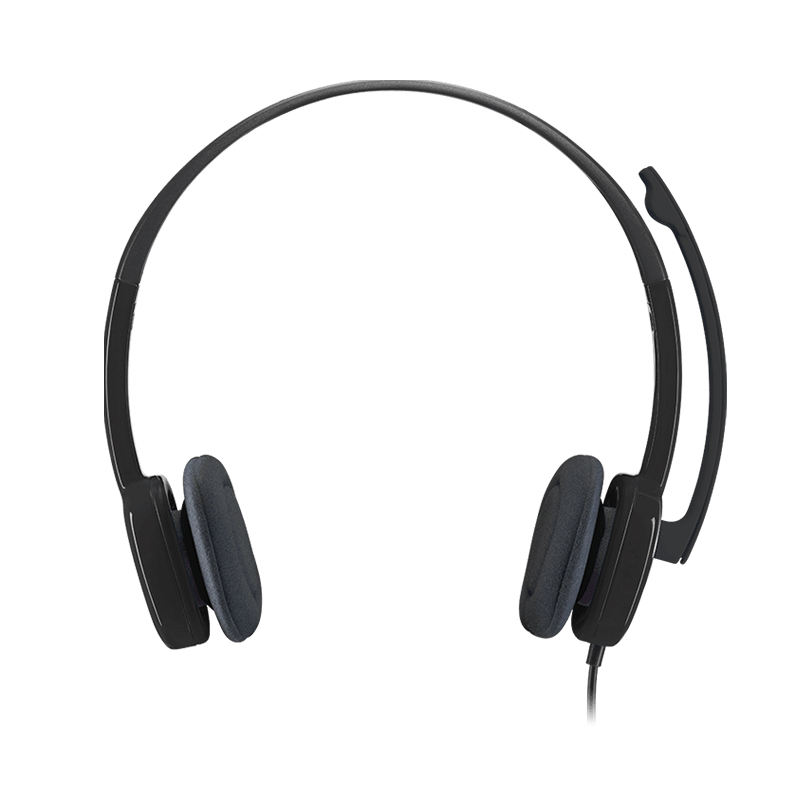 100% Original Logitech H151 Multi-Thiết Bị Stereo <span class=keywords><strong>Headphone</strong></span> Tai Nghe