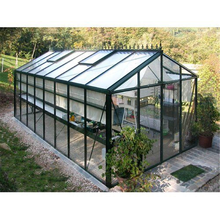 Topwindow Big Aluminum Alloy Aluminum Profile Small Low Cost Frame Glass Garden Greenhouse