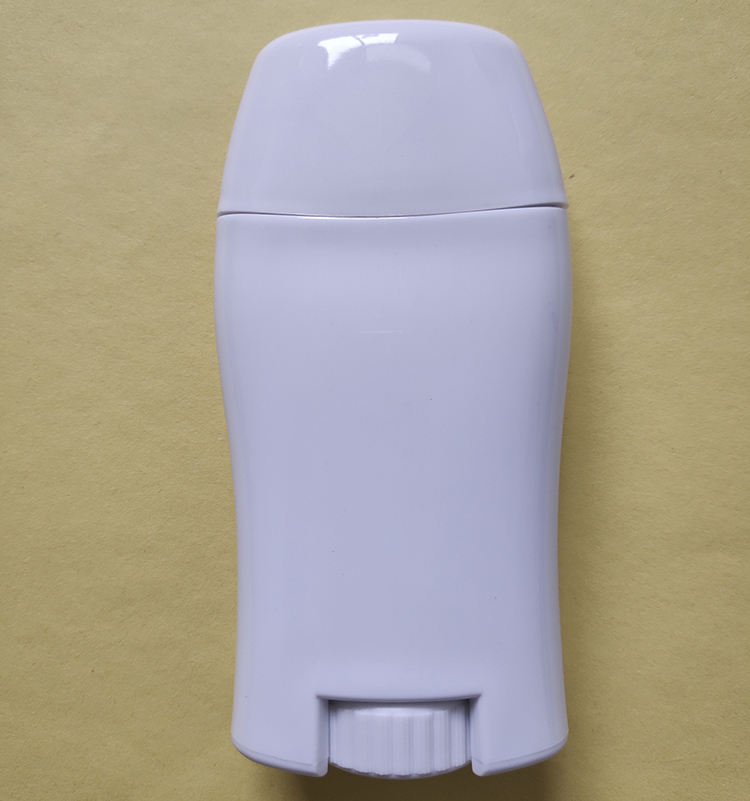 50ml white deodorant bottle with long hole