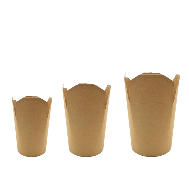 chinese paper noodle box Disposable Cardboard take away food box for noodle
