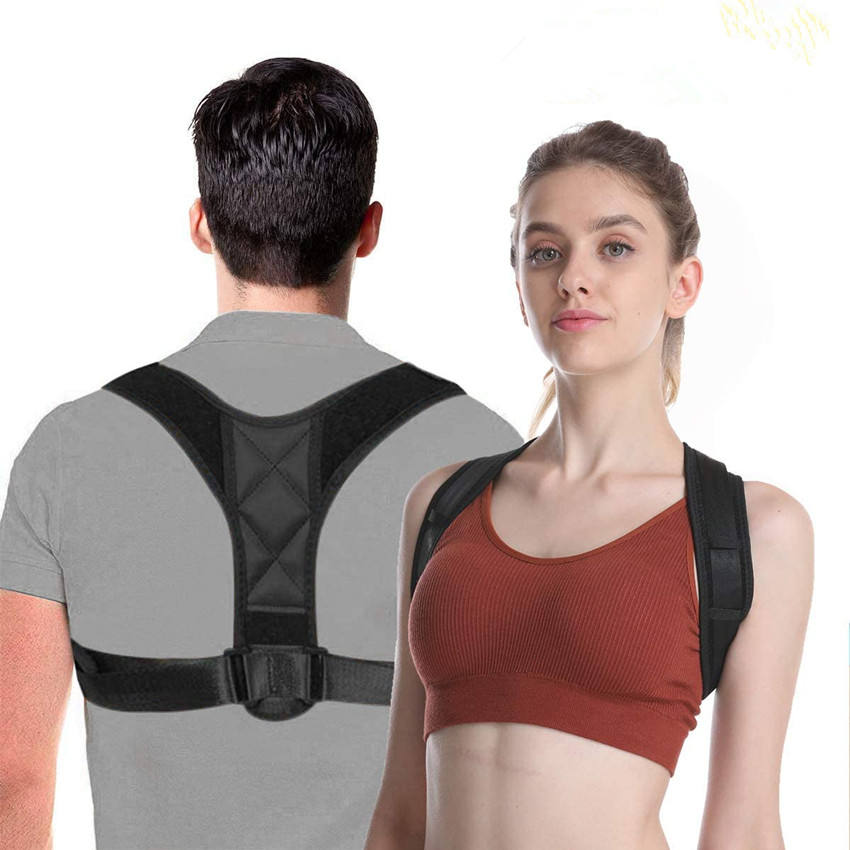 2020 Body Shaper Back Stretch Lumbar Back Brace Posture Corrector,Posture Corrector Adjustable With Ce Certificate