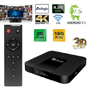 Bestseller 2GB/16GB TX3 mini android 7.1 smart kodi tv box quad core Amlogic S905W 4K Streaming Media Player