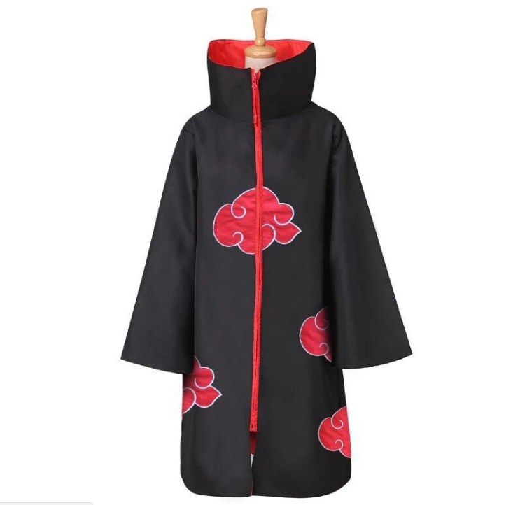 Ufogift Grote Maat Anime Naruto Cosplay Kostuums Voor Mannen Vrouwen Uniform Uchiha Itachi Mantel Akatsuki Kostuums Party Cape Outfit