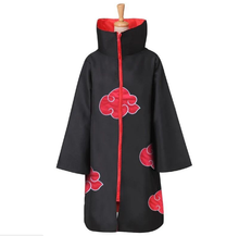 UFOGIFT Large Size Anime Naruto Cosplay Costumes for Men Women Uniform Uchiha Itachi Cloak Akatsuki Costumes Party Cape Outfit