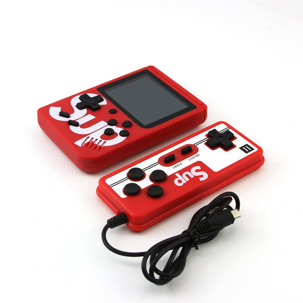 DZ0082-B 3 inch Large screen SUP mini handheld game 400 IN 1 games 800MAH Calling for two pople handheld game