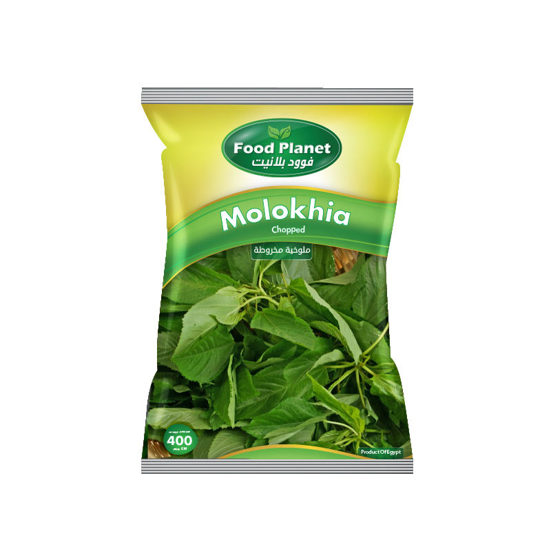 Food Planet Frozen Finely Chopped Molokhia 20 x 400g