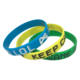 Free Sample Silk Screen Printed Customize Logo Silicone Bracelet Rubber Wristband, Hot Sale Game Player Wrist Bands Silicone