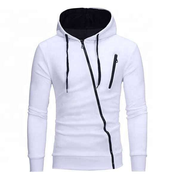 Awesome Style White Fleece Factory direct supply wholesale cashmere men sport hoodie