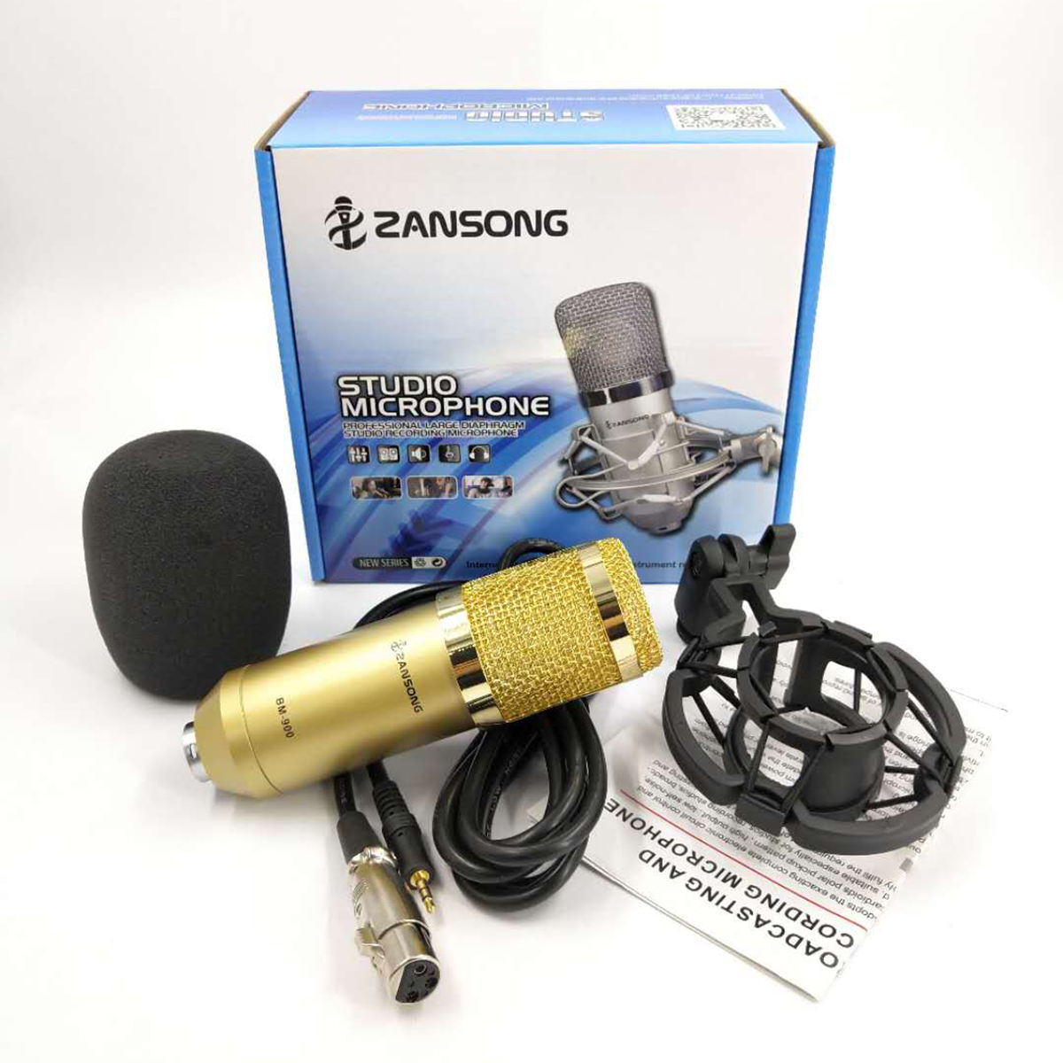Best-selling BM900 live recording microphone in Southeast Asia popular Karaoke Condenser microphone