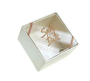 Custom Logo And Size Fashion Creativity Acrylic Transparent Box Storage Box