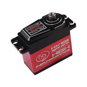 Full Aluminum Case Standard Size RC Digital Servo Applied in Airplane Car High Speed Steel Gear Waterproof Brushless Motor
