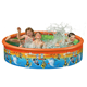 Happy Pool 85 X 39 cm inflatable pvc floating pool Multi Color swimming pool inflatable floats