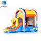 Kids Jumpy Extra Fun Party Rainbow Inflatable Bouncy House Jumping Castle in China