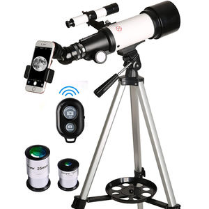 Foreseen 40070 Professional Mobile Phone Refractor Astronomical Telescope / Telescopio To View Moon And Plant