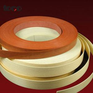 0.45*22 Coklat PVC Strip Brushed Plastik Edge Banding Tipe ABS Edging Tape