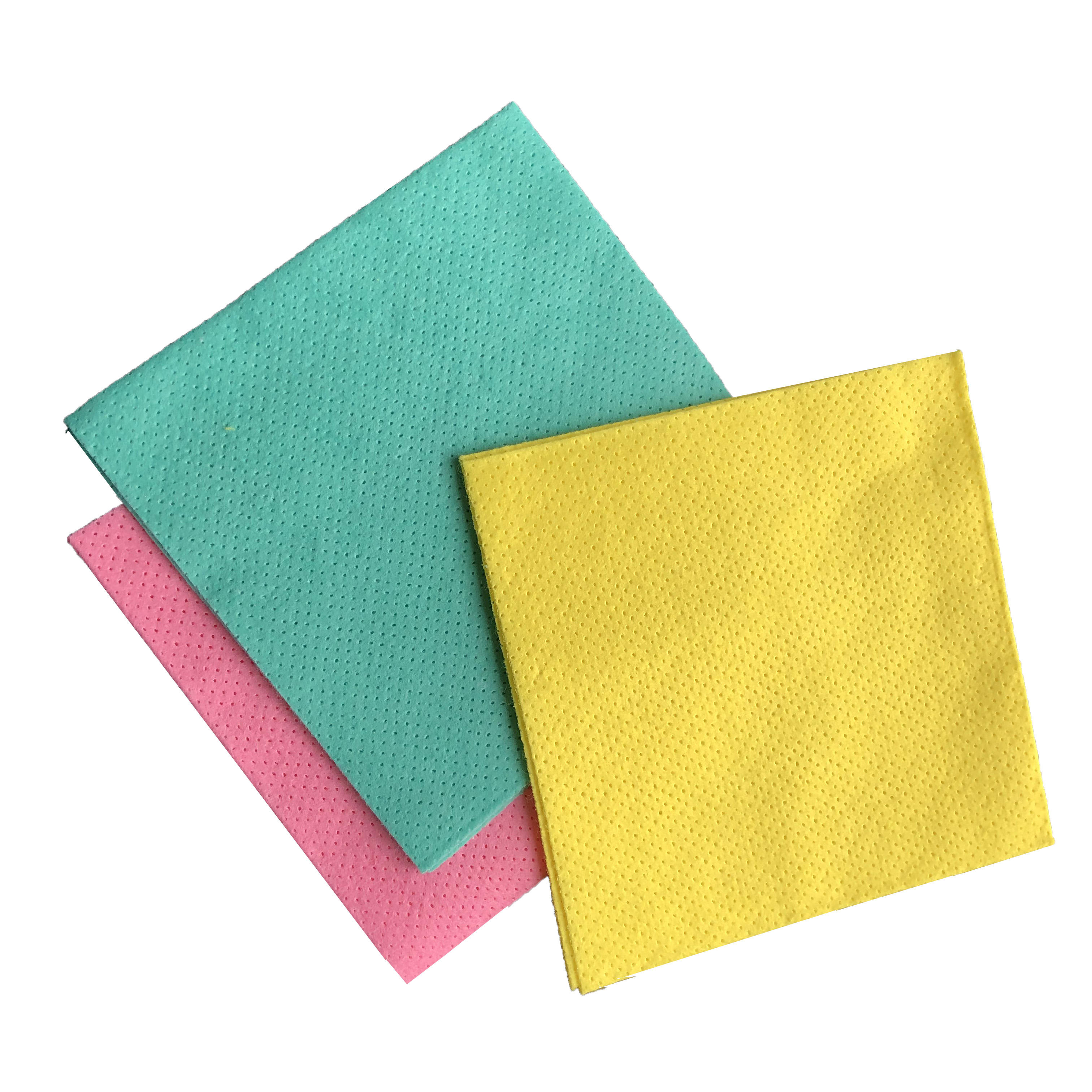 New products fabric print polyester screen printing white sticky felt nonwoven