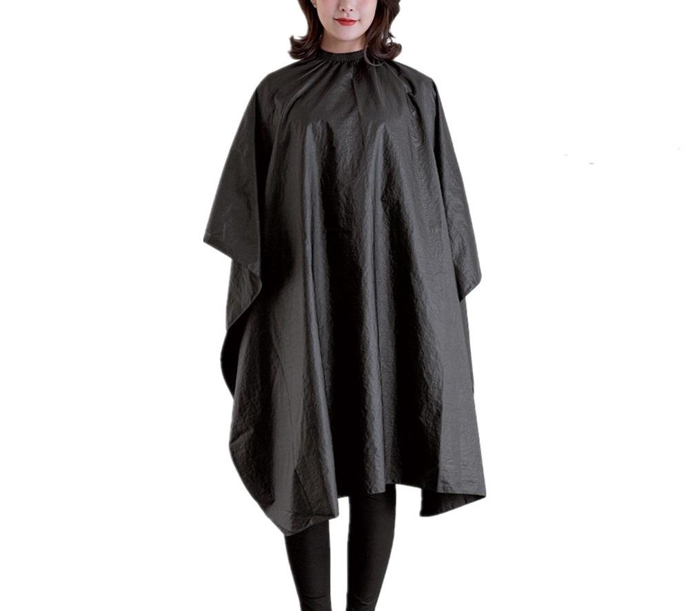 Custom colour Eco-Friendly PLA biodegradable hair salon capes hairdressing cape