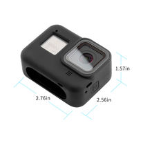 SUREWO Silicone Protective Housing Case Soft Silicone Covers Case For Gopro Hero 8 Action Camera Accessories