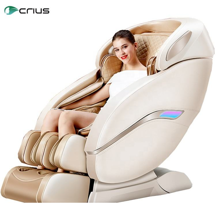 Japanese 3D Luxury Electric 4d zero gravity Full Body Shiatsu Recliner massage chair